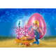 4946 - Morská panna s morskými koníkmi