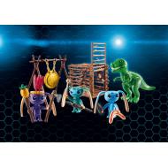 9006 - Bojovníci Alien s pascou na T-Rexa