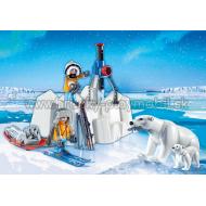 9056 - Polárnici s ľadovými medveďmi