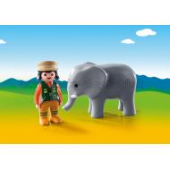 9381 - Ošetrovateľ zvierat so slonom